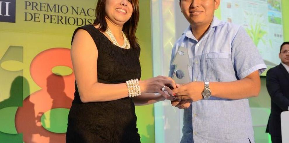'La Decana' en los premios de periodismo