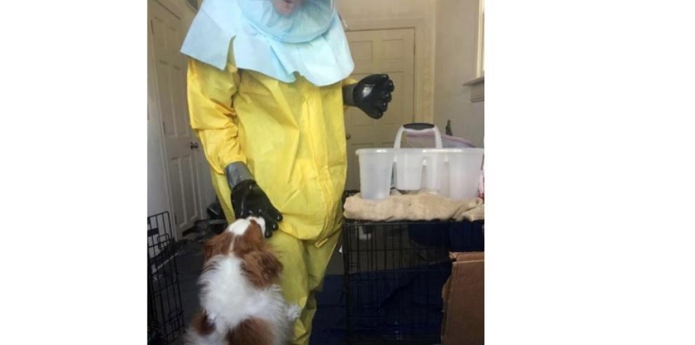 Perro de enfermera de Dallas da negativo por ébola