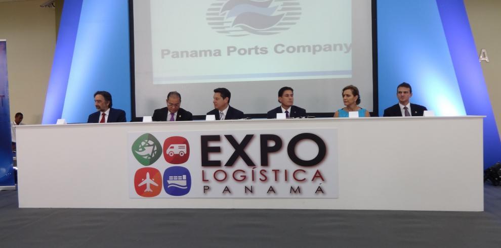 Inauguran Expo Logística Panamá 2014, con más de 250 expositores