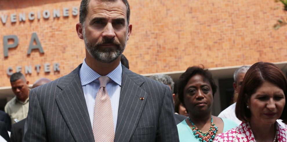 El Príncipe de Asturias llega a Costa Rica para investidura de Solís