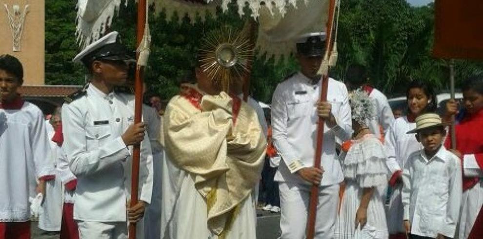La Chorrera festeja el Corpus Christi