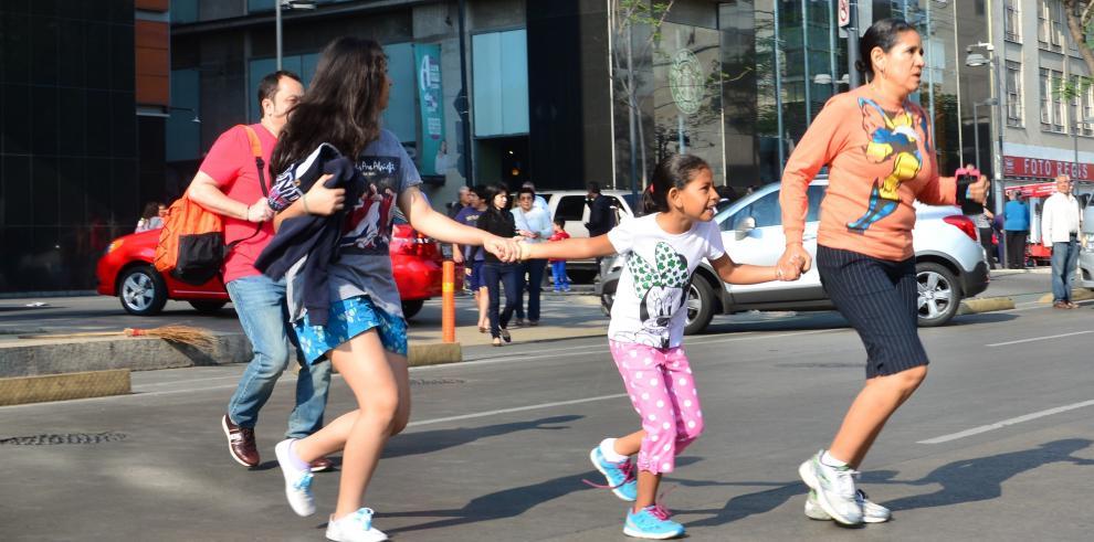 Sin víctimas por sismo de magnitud 7 Richter en México