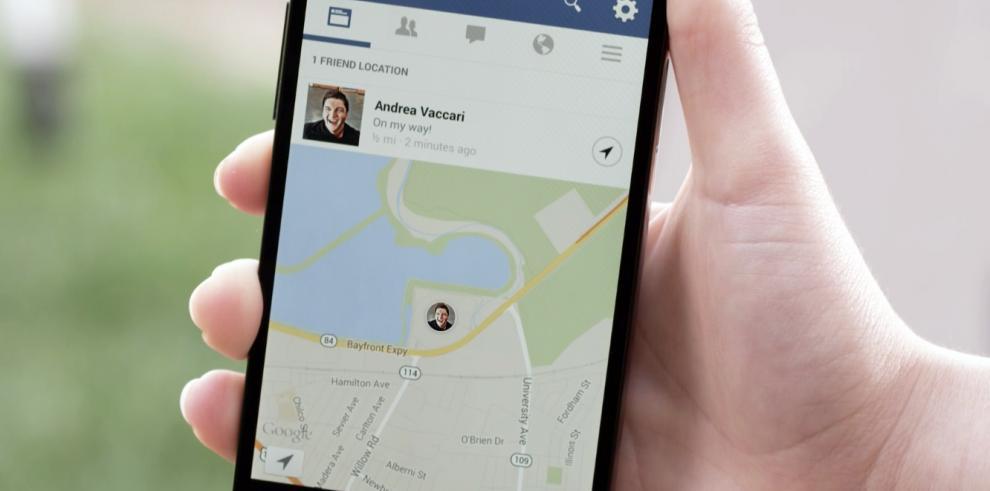 Nuevo sistema para localizar amigos cercanos en appmóvil de Facebook