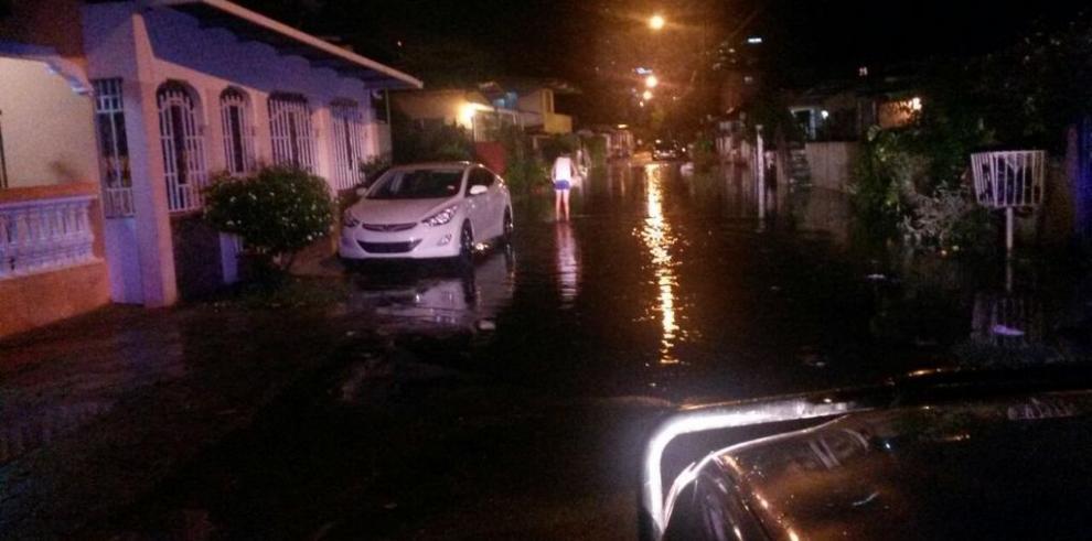 159 personas afectadas por las fuertes lluvias, informa el SINAPROC