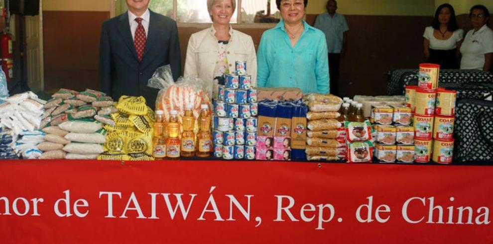Apoyo de República de China (Taiwán)