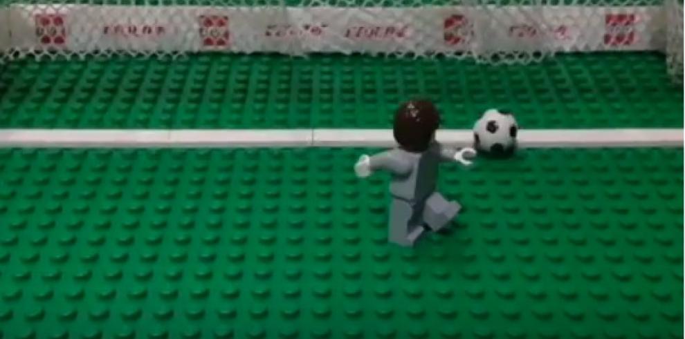 Recrean goleada de Alemania contra Brasil, en versión lego