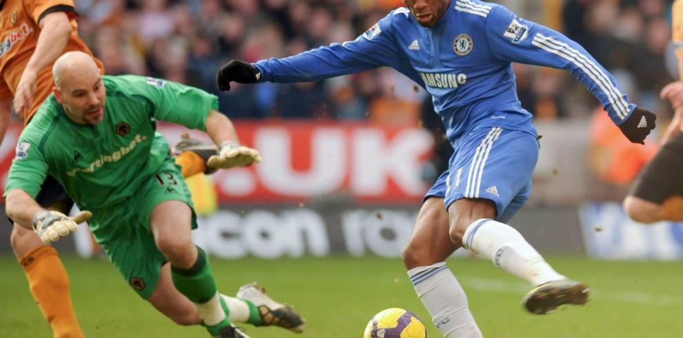 Drogba no jugará con el Chelsea frente al Sporting de Lisboa
