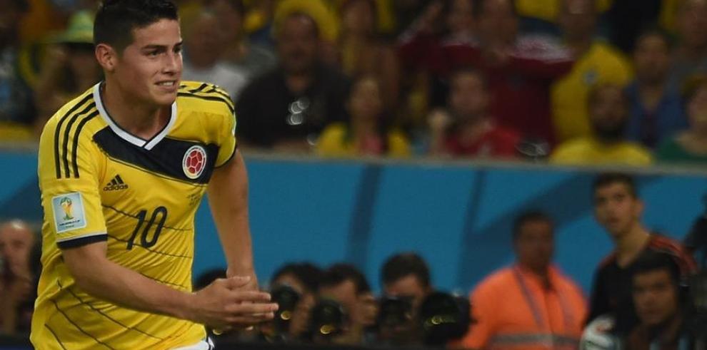 James Rodríguez fue el más cotizado del Mundial de Brasil