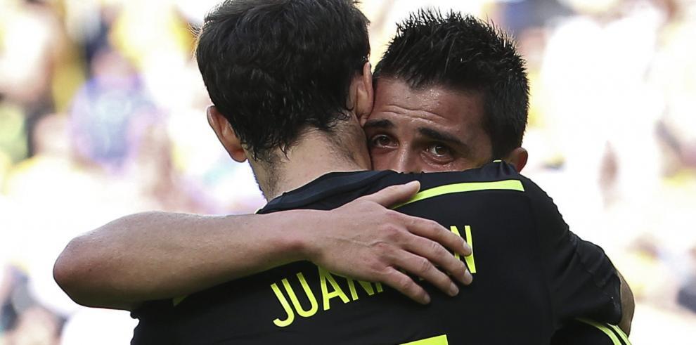 Selección de España regresa a Madrid sin hacer ruido