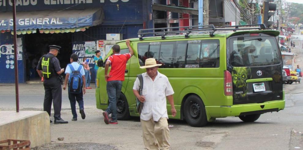 Proliferación de buses pirata