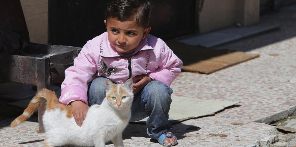 Los niños, víctimas de un conflicto que se eterniza en Siria