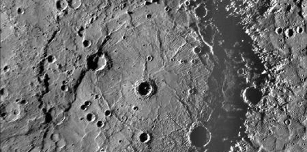 Planeta Mercurio ha encogido siete kilómetros en 4 mil millones de años