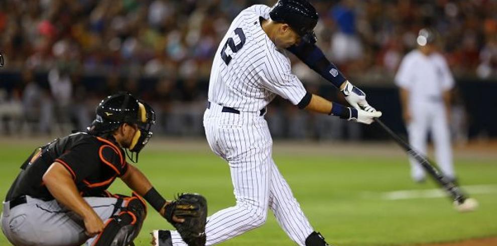 Los Marlins dejó sin imparables a los Yankees en Panamá