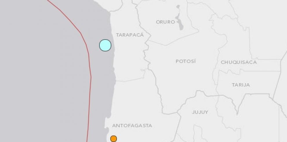 Dos sismos de magnitud 7 sacuden norte de Chile