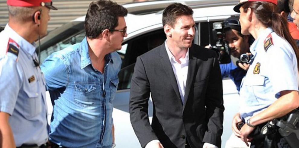 Citan a Lionel Messi en corte por cargos de fraude
