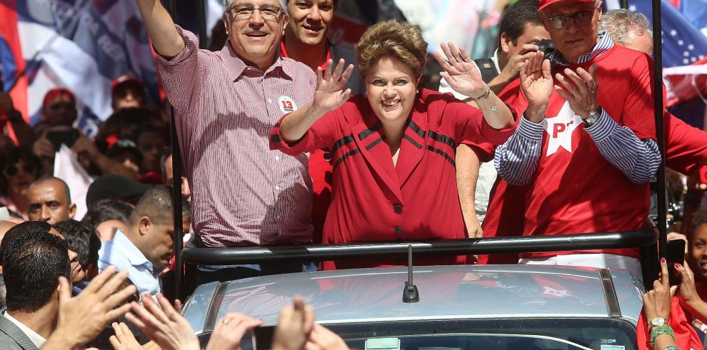 Rousseff busca los últimos votos antes de las elecciones