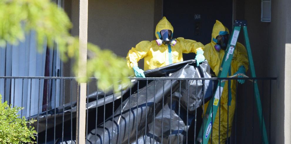 Desinfectan el apartamento del enfermo de ébola en Dallas