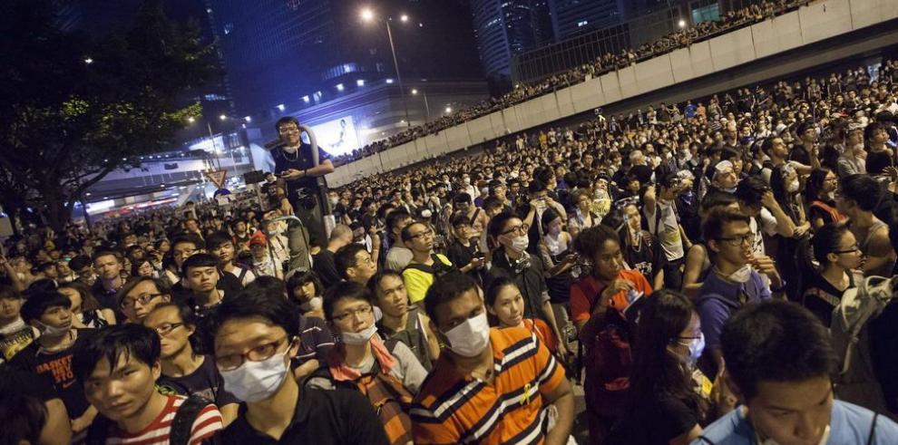 Líderes estudiantiles dialogarán con el gobierno hongkonés