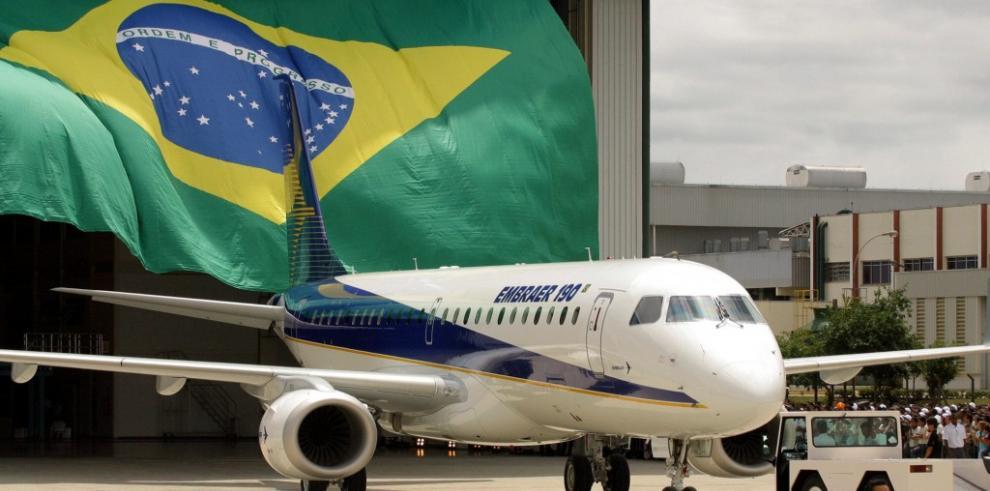 Pedidos a brasileña Embraer alcanzan un valor récord