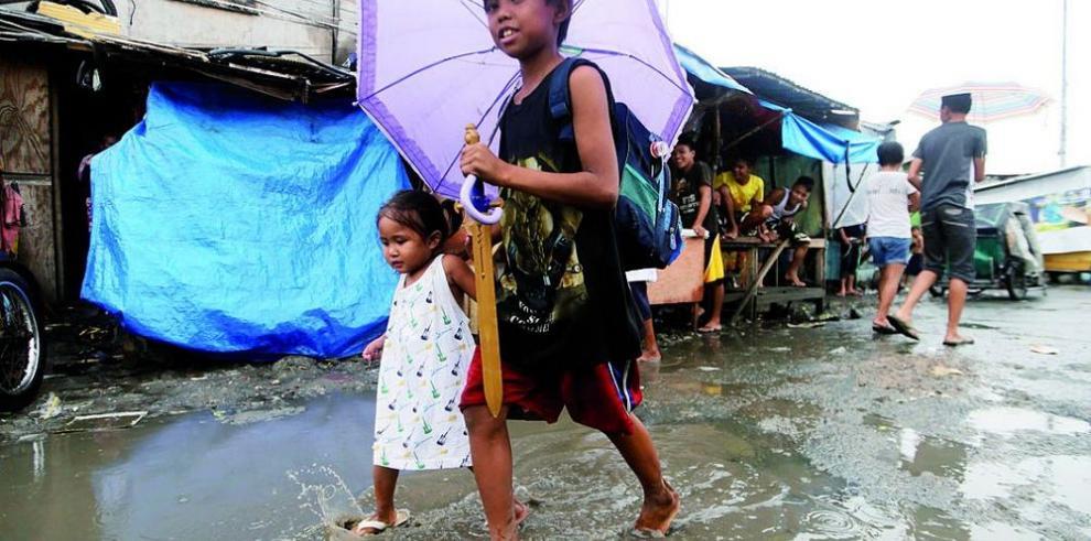 El tifón Hagupit se convierte en depresión tropical