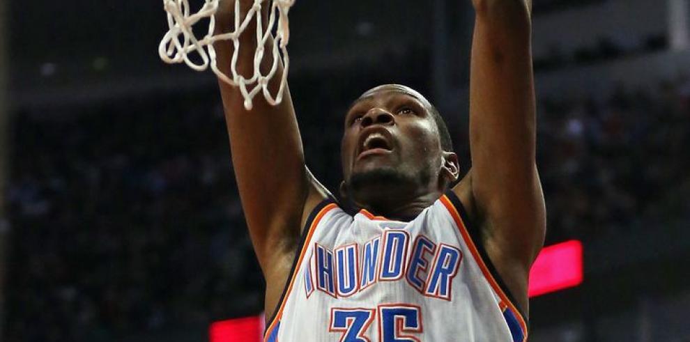 Durant no deja de meter puntos en la NBA