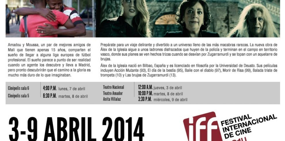 Películas españolas, entre las recomendadas en el IFF Panamá