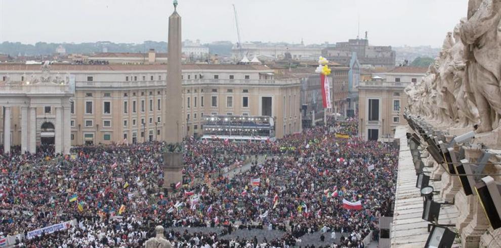 Canonización de Juan XXIII y Juan Pablo II