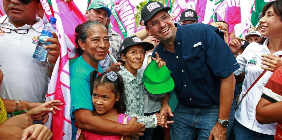 Arias se despide de Chiriquí