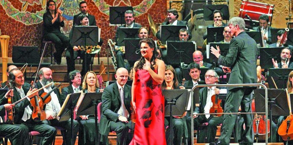 Anna Netrebko enamoró al público en Barcelona