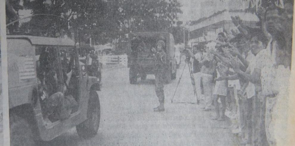 Cobertura de La Estrella de Panamá durante la invasión de 1989