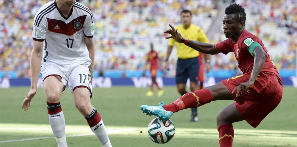 Alemania y Ghana terminan el partido empatados 2-2