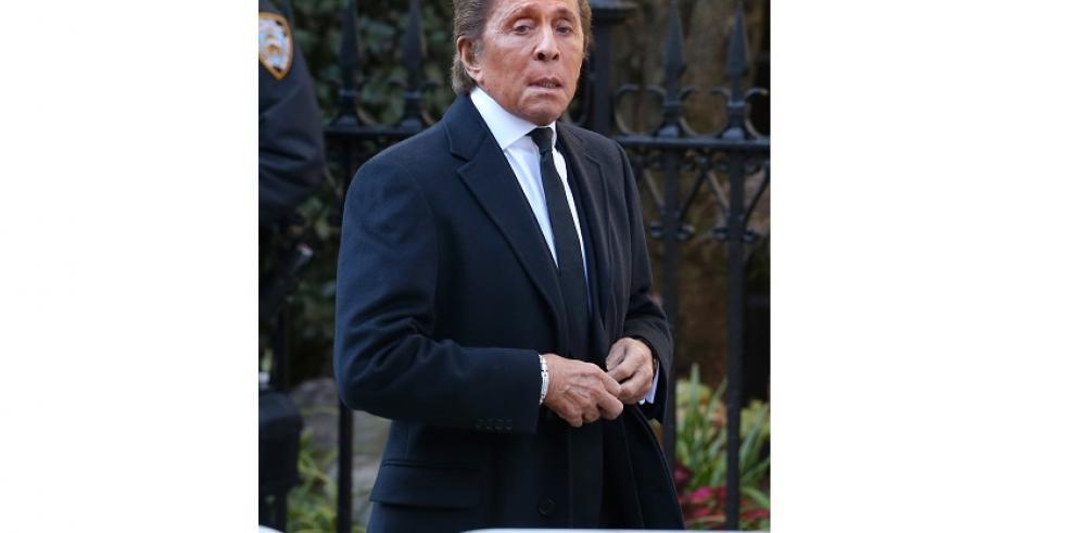 Famosos en Nueva York despiden a Oscar De la Renta