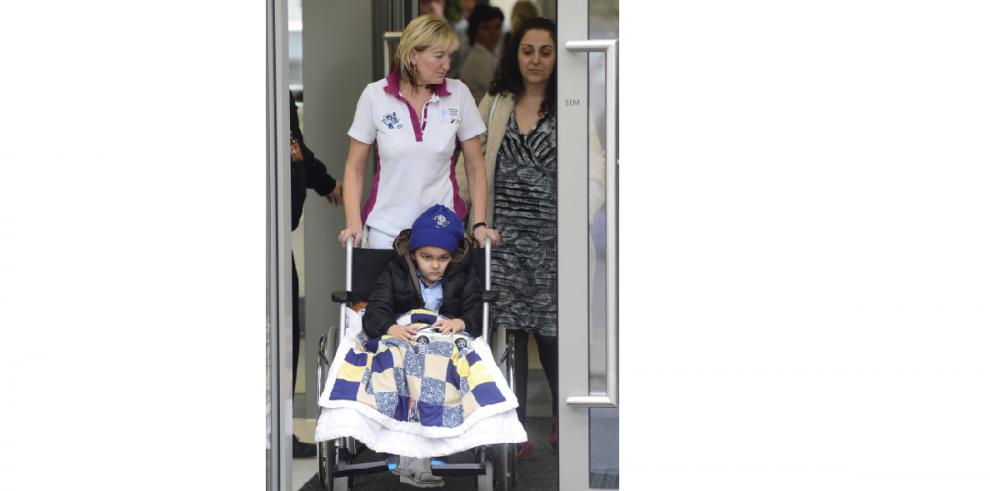 Terapia de protones salva la vida de niño de 5 años con tumor cerebral