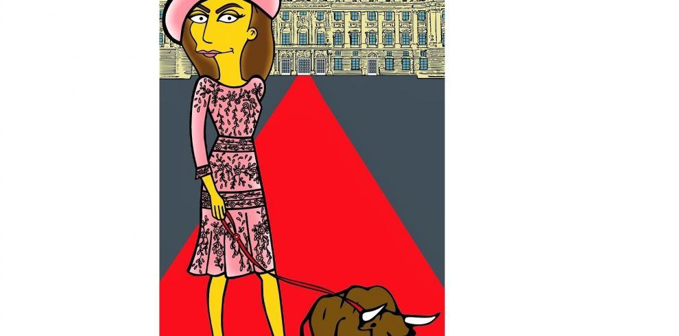 Simpsonizan a la reina Letizia