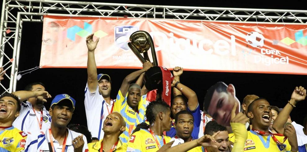 Chorrillo, campeón de la Liga Panameña de Fútbol