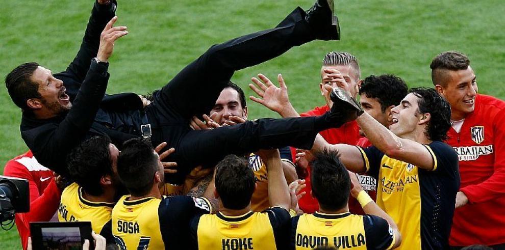Diego Simeone, la gran figura detrás del Atlético de Madrid campeón en España