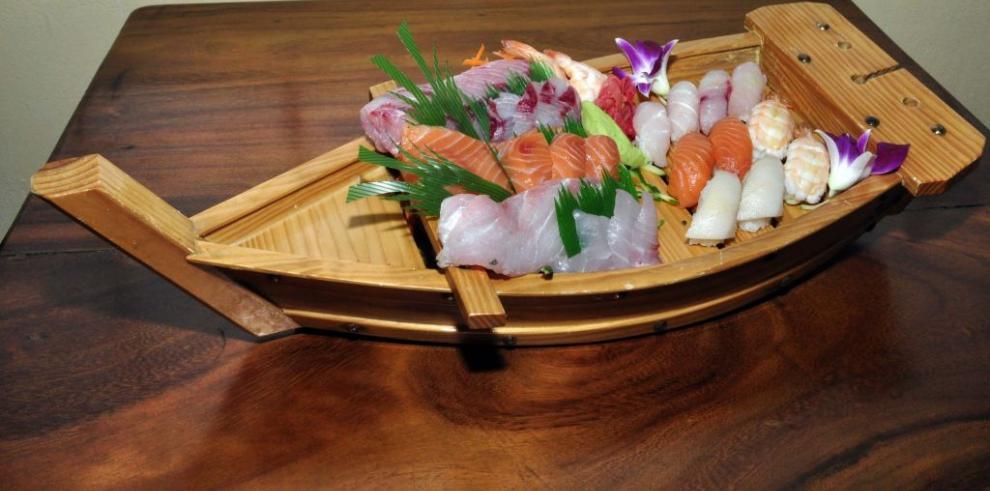 Frutos del mar que engalanan la mesa