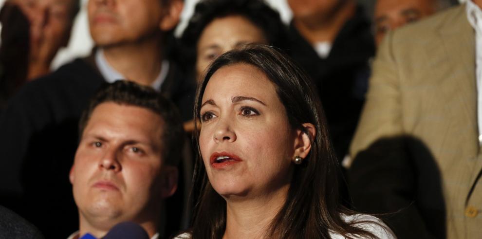María C. Machado presentará denuncia ante Fiscalía General