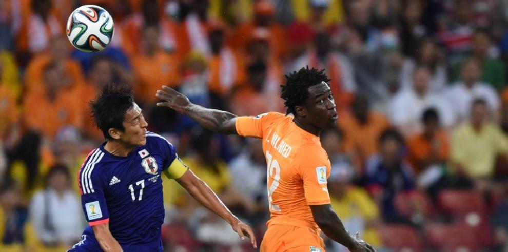 Costa de Marfil vence a Japón 2-1