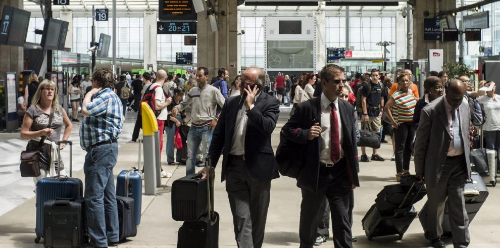 La huelga de trenes continúa en Francia
