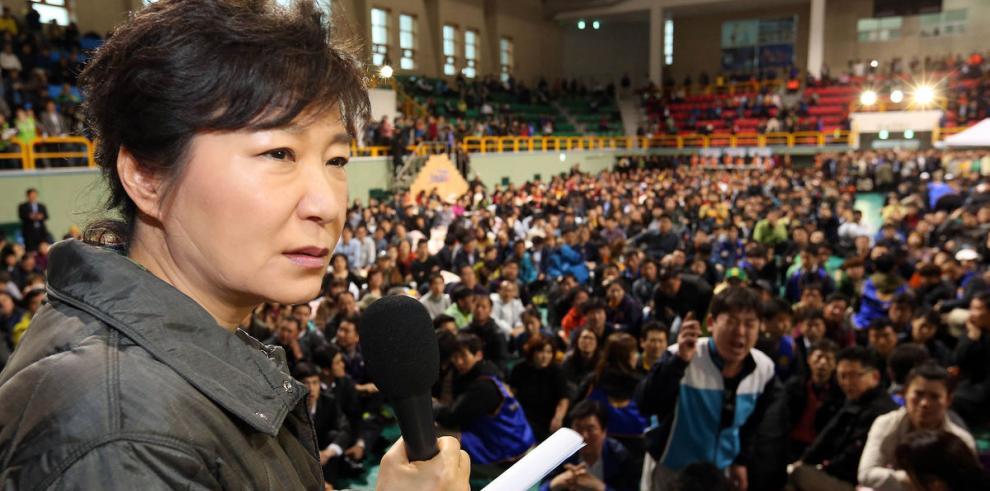 Presidenta surcoreana reprochó al capitán