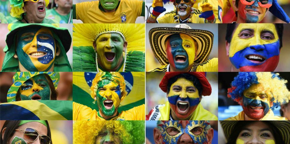 Brasil-Colombia y Alemania-Francia, cuartos de final con pronóstico reservado