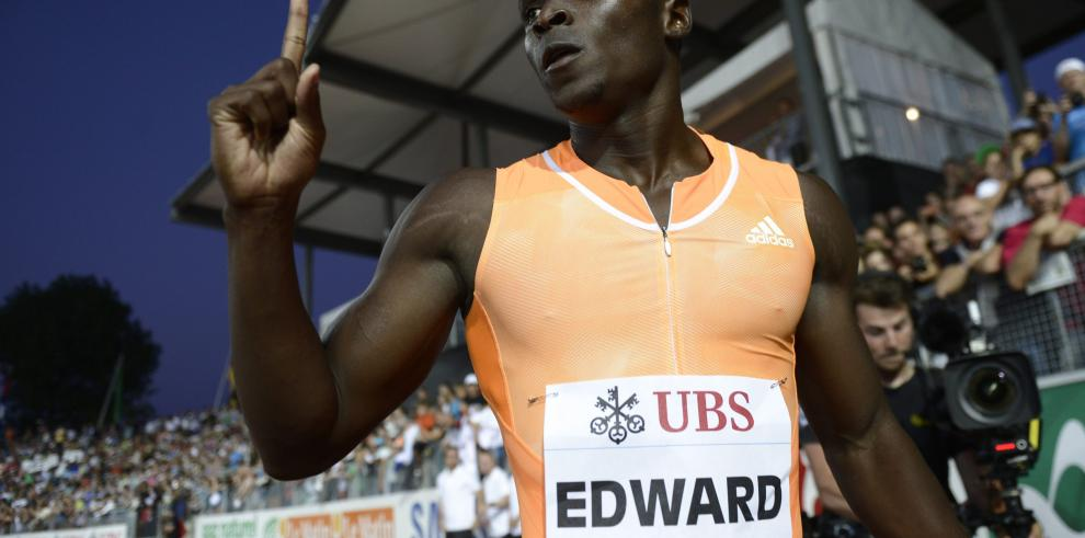 El atleta Alonso Edward se lleva el oro en Lausanne, Suiza