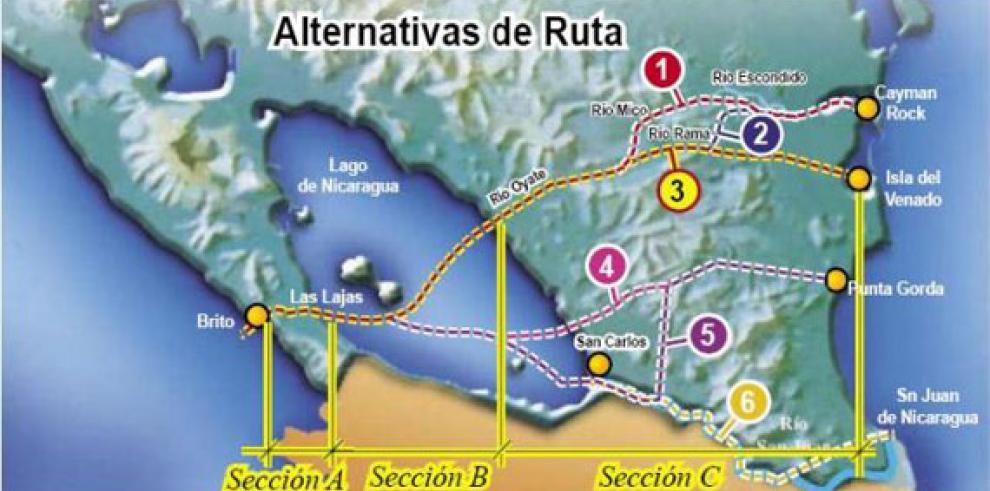 Gobierno desmonta con violencia protestas contra canal de Nicaragua