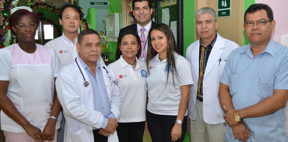 Donación al Hospital Nicolás Solano