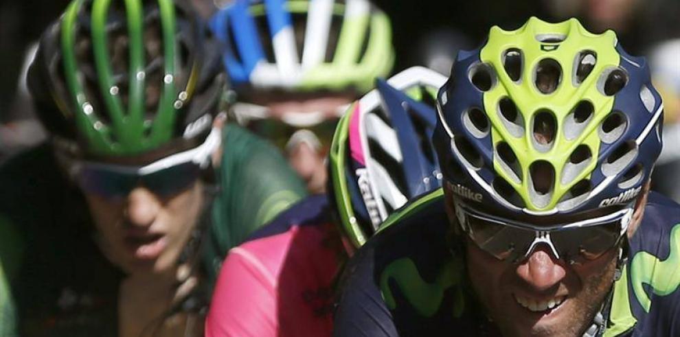 Alejandro Valverde ganó etapa 6 y es nuevo líder de la Vuelta a España