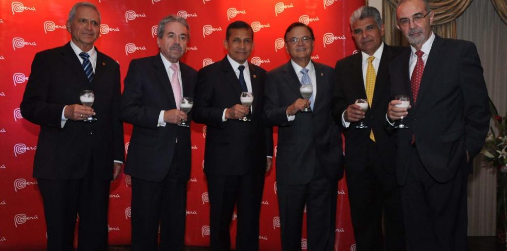 Presidente Humala encabeza recepción