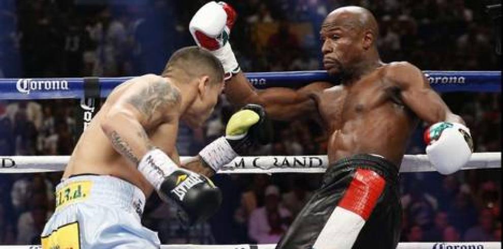 Las Vegas tiembla, Floyd vs. Maidana