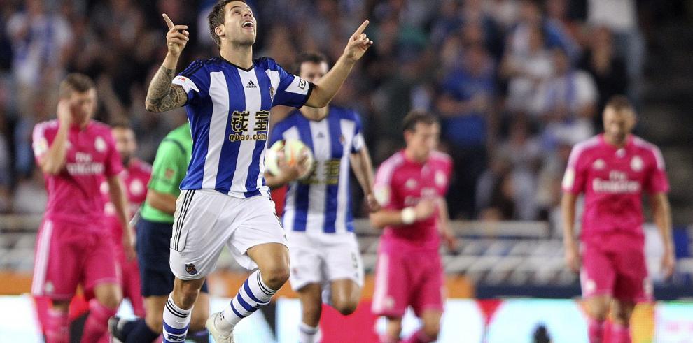 El Real Madrid cae goleado por la Real Sociedad 4-2