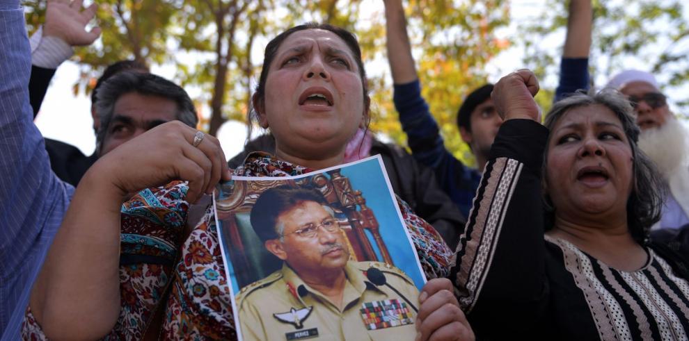 Tribunal acusa al Expresidente de Pakistán Mushárraf de alta traición